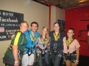 PCVs in Big Rush swing harnesses