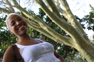 Zandy at the Durban Botanical Garden