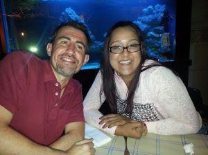 Erik and Kristina in Johannesburg