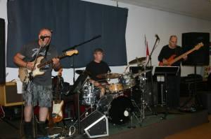 John, Bill and Jeff provided live music