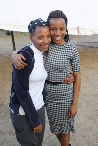 Zandy and TT (Thobile)