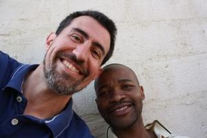 Erik and Mr. Musa Mnyandu