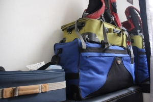 Bags are packed, ready to go